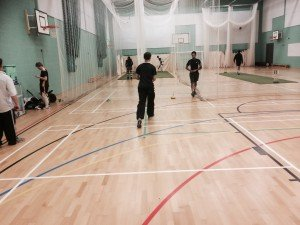 This year's indoor nets will be at Nobel School